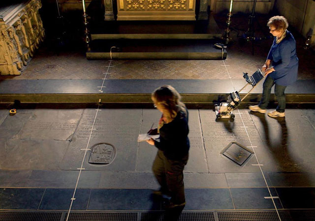 Ground-penetrating radar reveals Shakespeare's skull may have been stolen