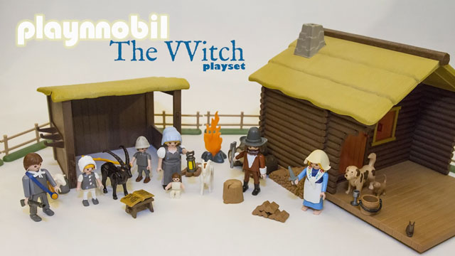 The Witch movie playset