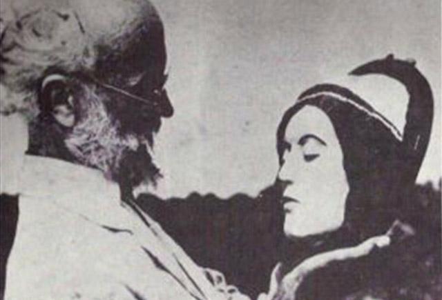 Carl Von Cosel with Elena Hoyos