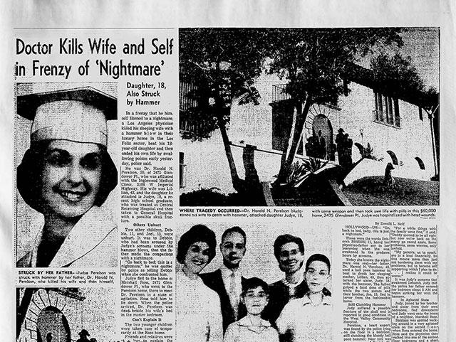 The Los Feliz murder in the LA Times