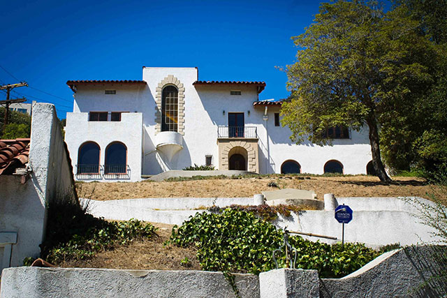 The Los Feliz murder mansion in LA