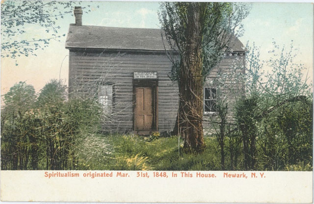 The house where the Fox sisters lived and spiritualism began