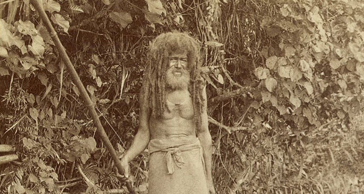 Cannibal Tom, the last cannibal of Fiji