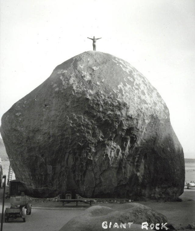 Alien encounters at Giant Rock