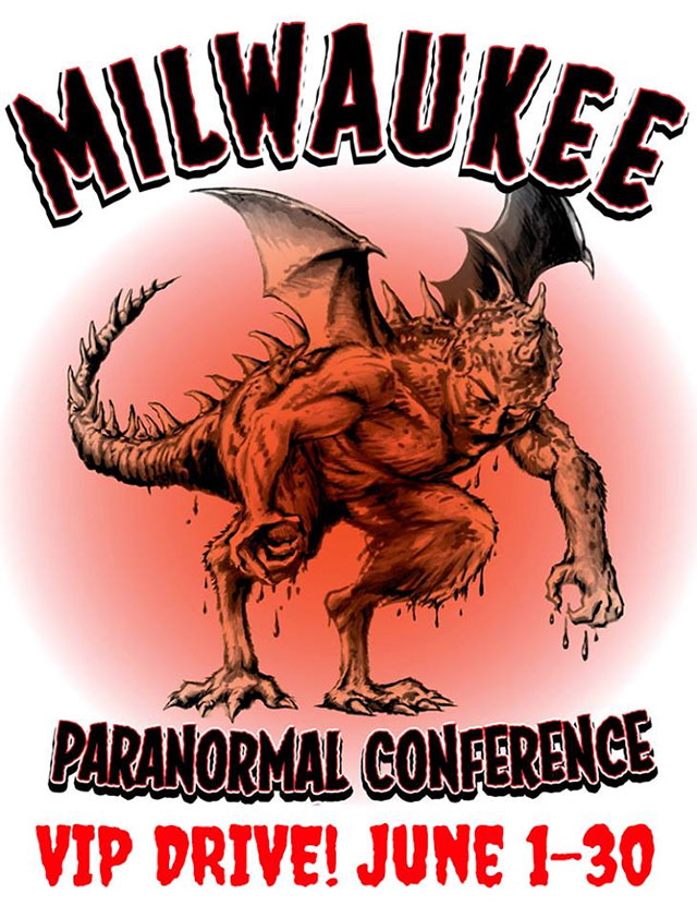 Milwaukee Paranormal Conference VIP drive