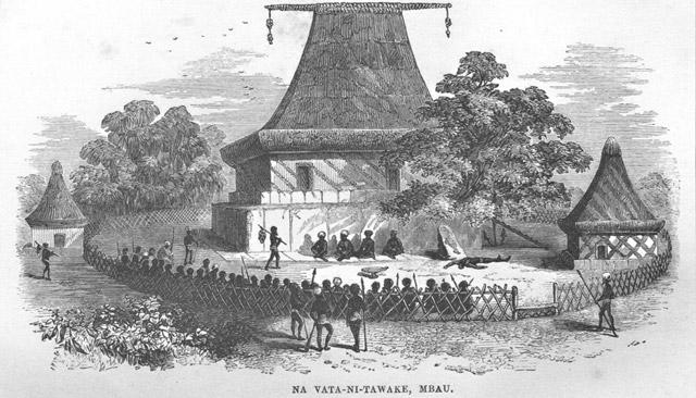 Fiji cannibal temple on Bau