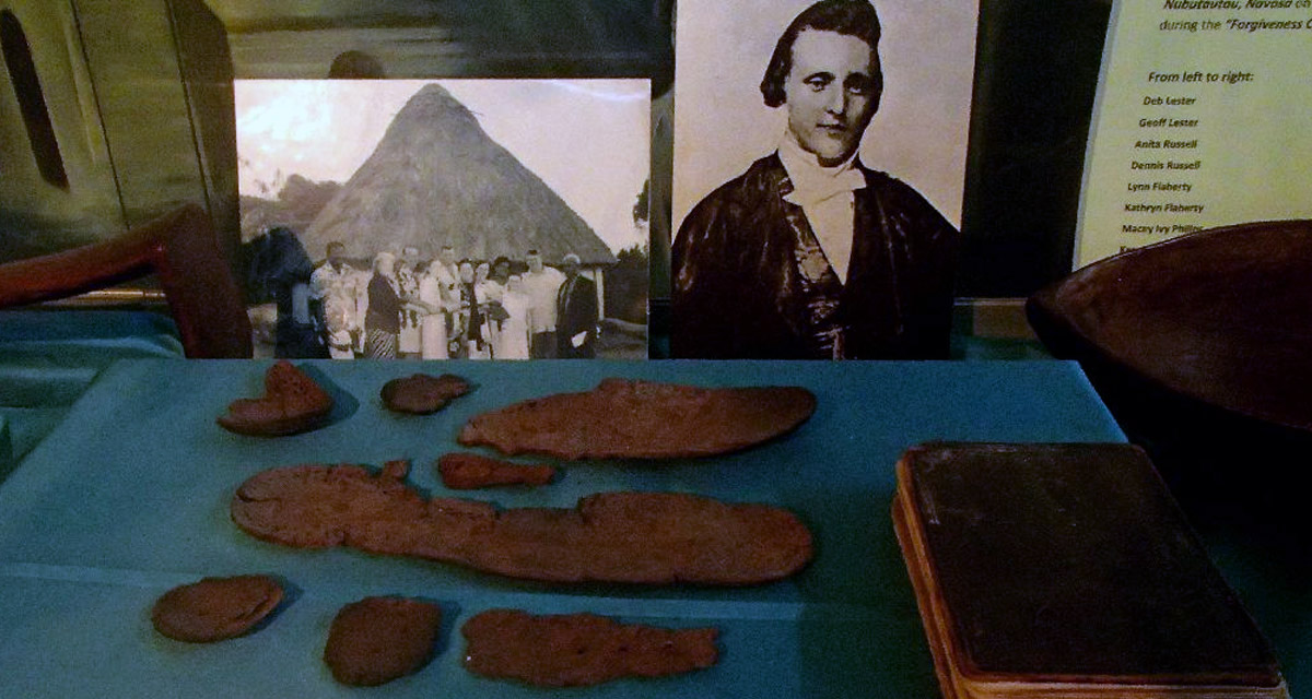 Rev. Thomas Baker, the last victim of cannibalism in Fiji