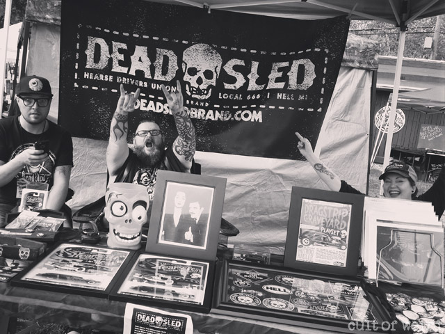 Dead Sled Brand at Hearsefest 2016 in Hell, MI