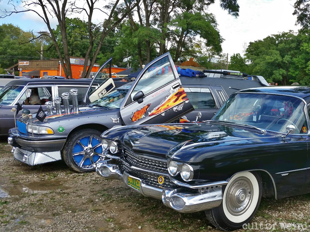 Hearses at Hell's Hearsefest 2016