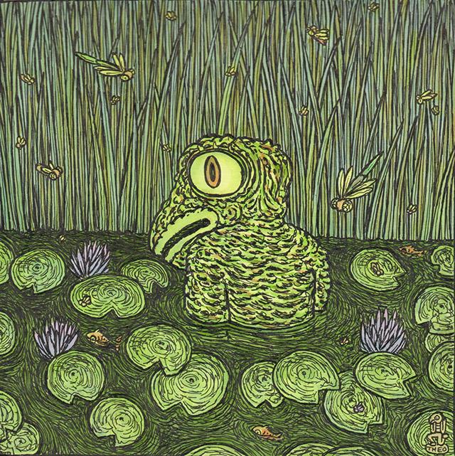 Loveland Frogman by Theo Ellsworth
