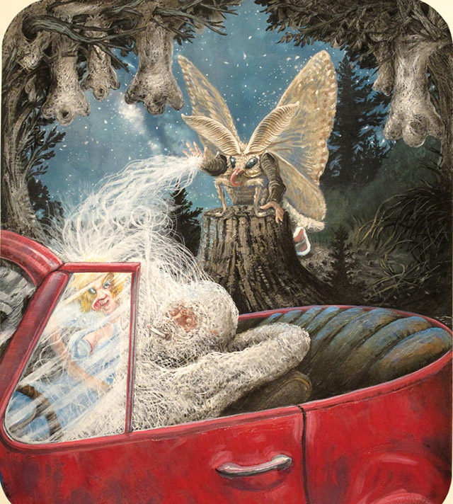 Mothman by Herman James