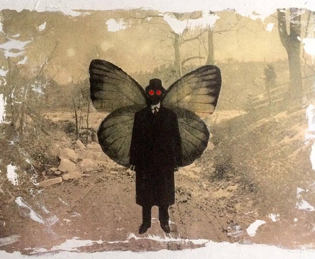 Mothman art by Steven Levan