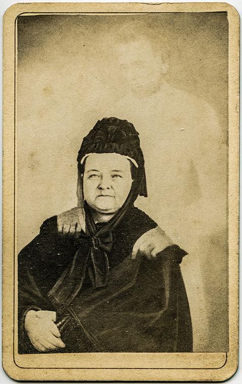 William H. Mumler spirit photograph of Abraham Lincoln