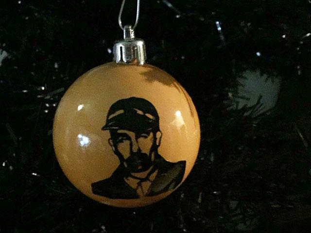 Ed Gein Christmas ornament