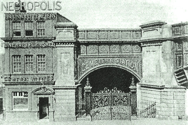 London Necropolis Railway station