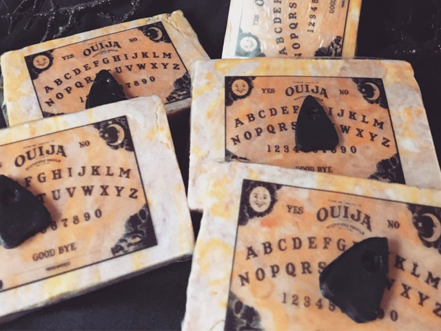 Ouija board bubble bath