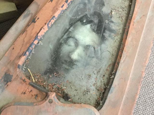 Odd Fellows ceremonial coffin for sale