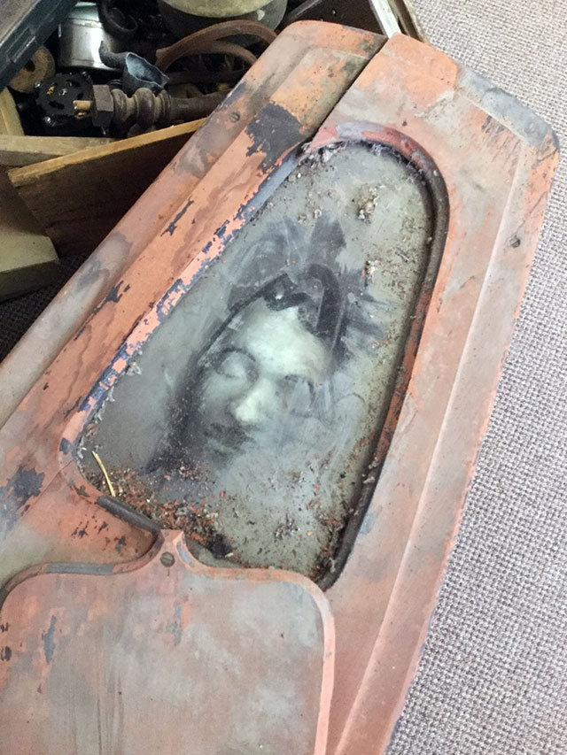 Odd Fellows coffin for sale on ebay