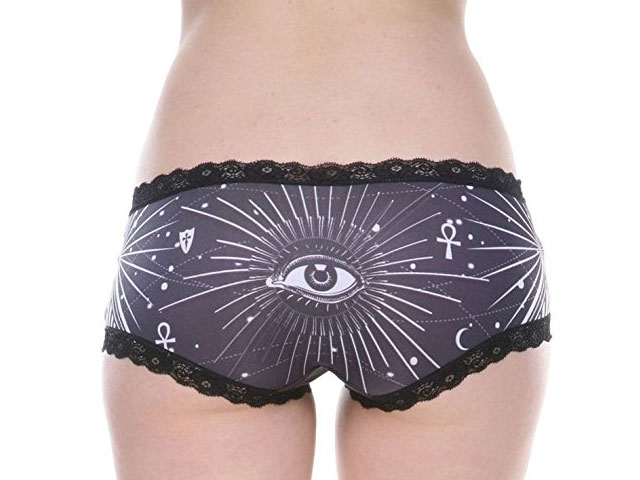 Occult symbol panties