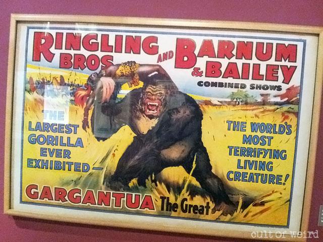 Ringling Bros. Gargantua circus poster