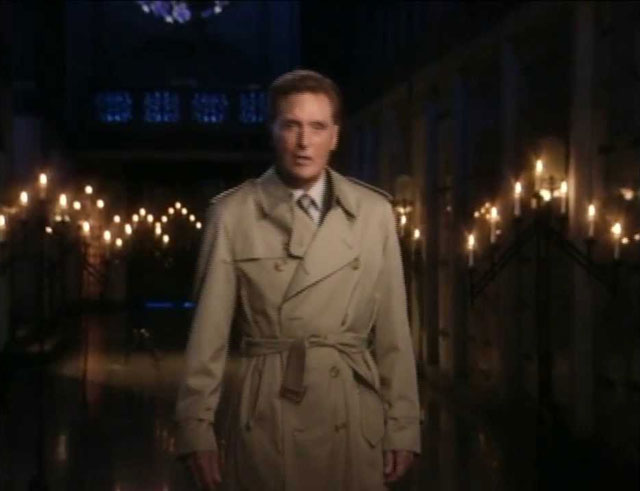 Unsolved Mysteries host Robert Stack