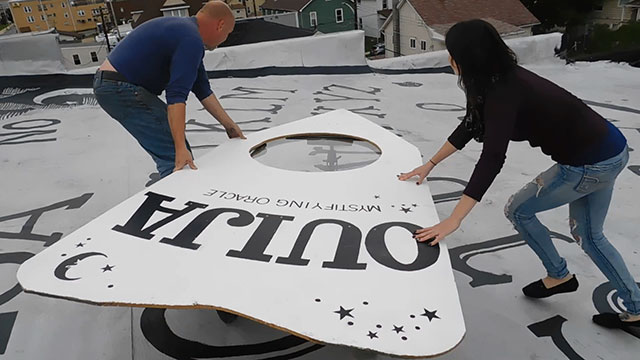 Playing the world's largest Ouija board