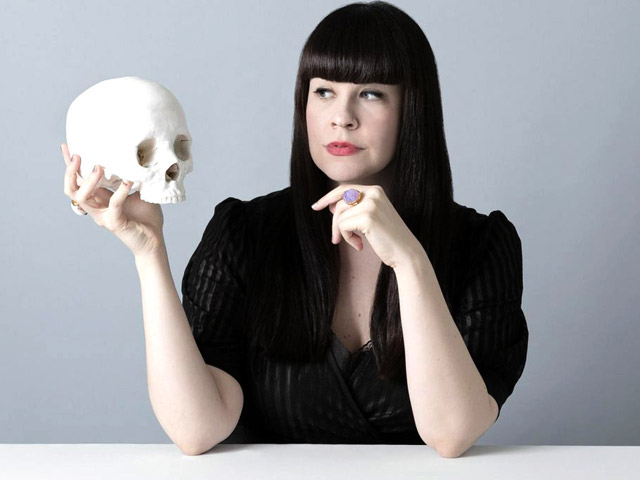 Mortician and author Caitlin Doughty