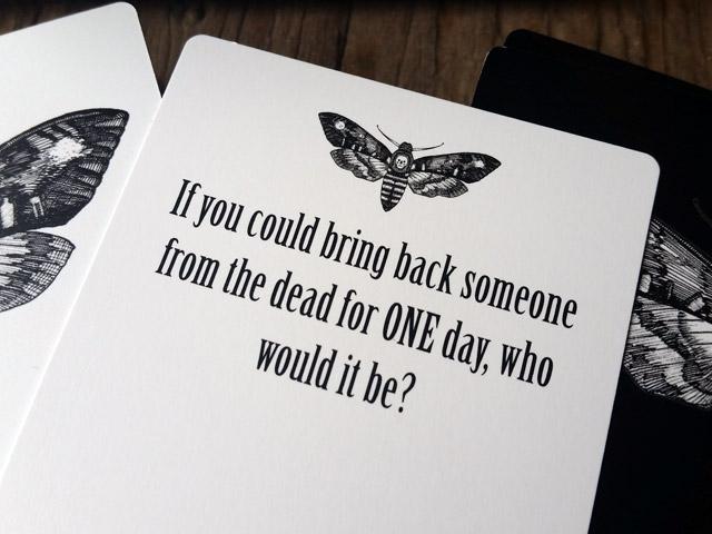 Morbid Curiosity game card
