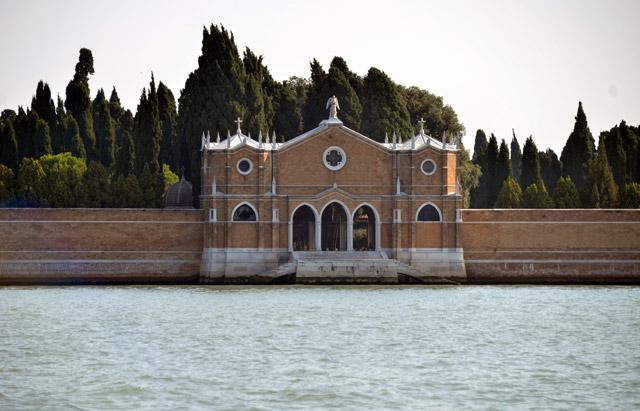 San Michele cemetery island in Venice