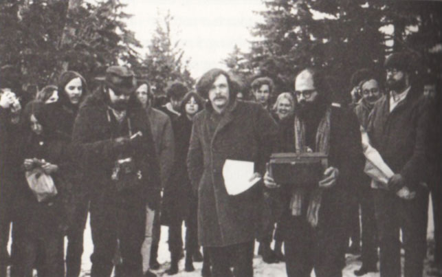The Fugz gather in a Wisconsin cemetery to exorcise the grave of Joe McCarthy