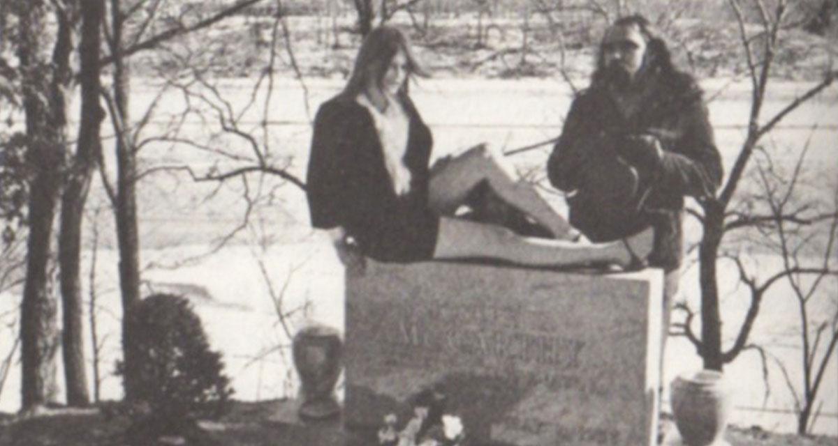 The Fugz perform an exorcism on the grave of Senator Joe McCarthy