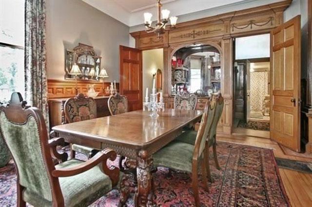 Amityville Horror house dining room