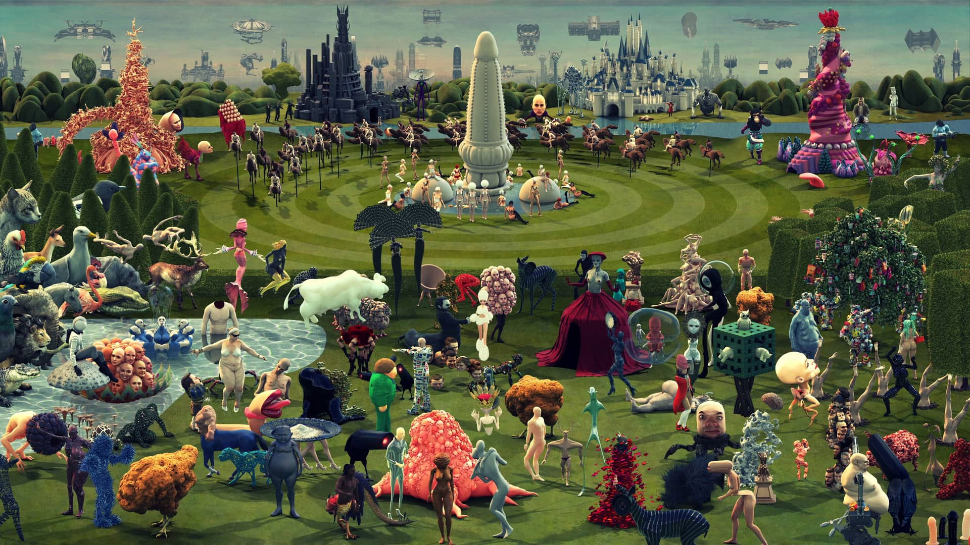 Garden of Earthly Delights animated by Studio Smack