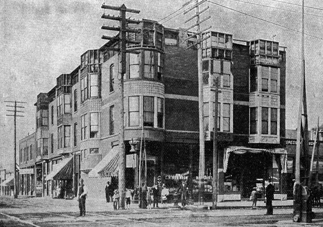 H.H. Holmes Murder Castle in Chicago