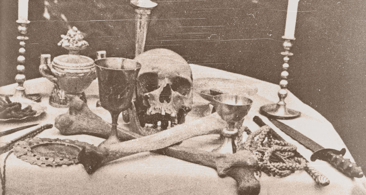 Books about the occult, magick, and witchcraft