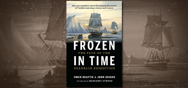 Frozen in Time book about the Franklin Expedition