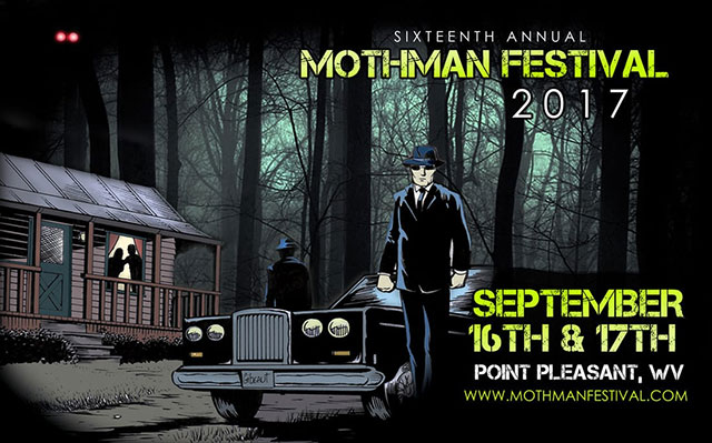 Mothman Festival 2017 in Point Pleasant, West Virginia