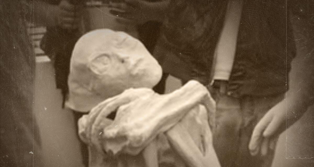 Nazca alien mummy hoax