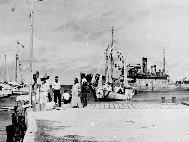 Amelia Earhart captured by the Japanese