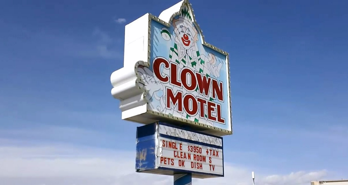 Haunted clown motel