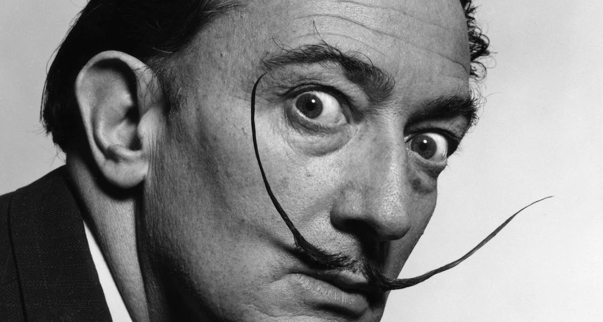 Salvador Dali's mustache found intact in the grave