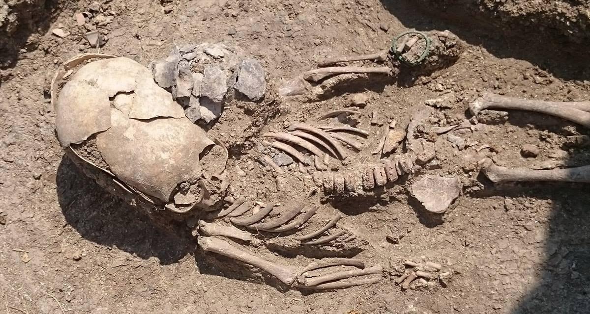 Elongated skull found in Crimea