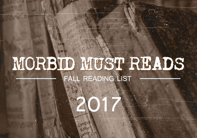 Cult of Weird fall reading list morbid book recommendations