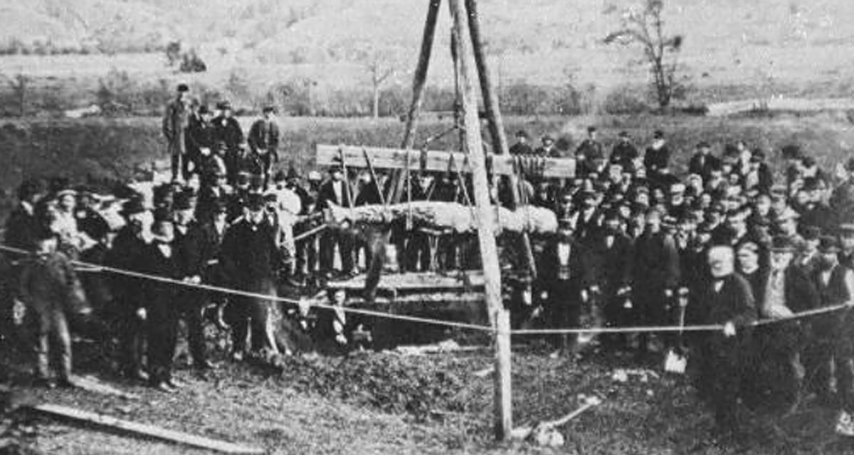 Discovery of the Cardiff Giant