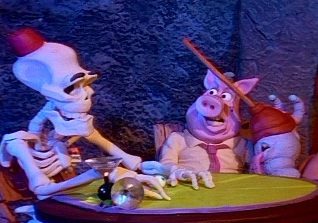 Claymation Comedy of Horrors stop-motion Halloween special