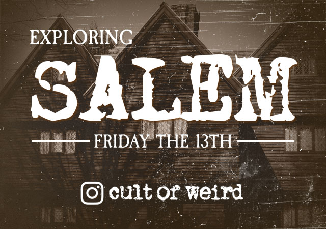 Exploring Salem during Halloween on Friday the 13th