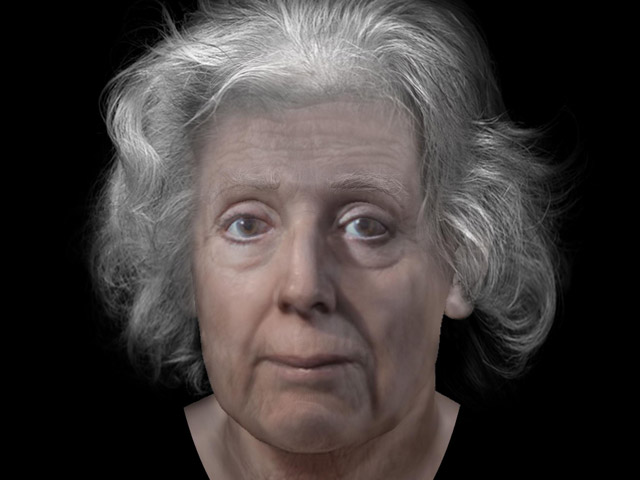 Face of the Torryburn witch