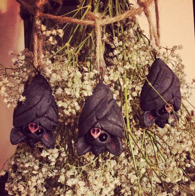 Bat figurine