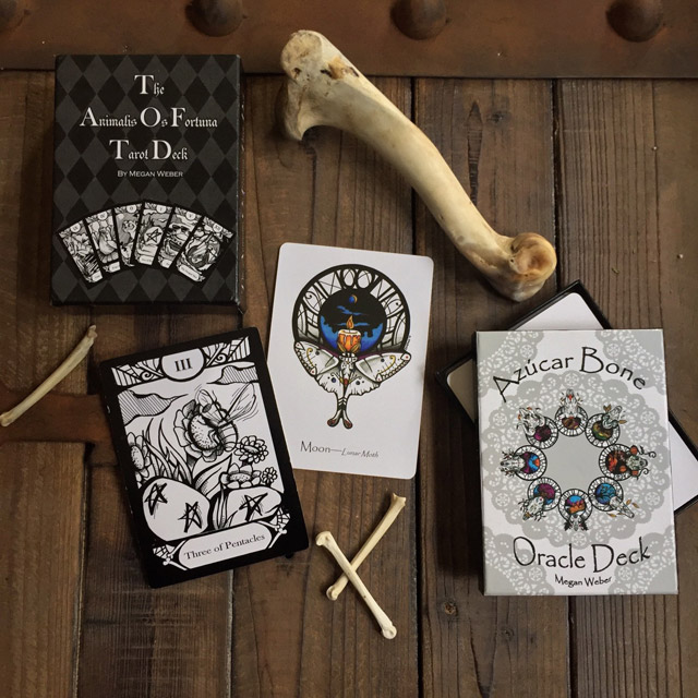 Tarot and oracle card decks