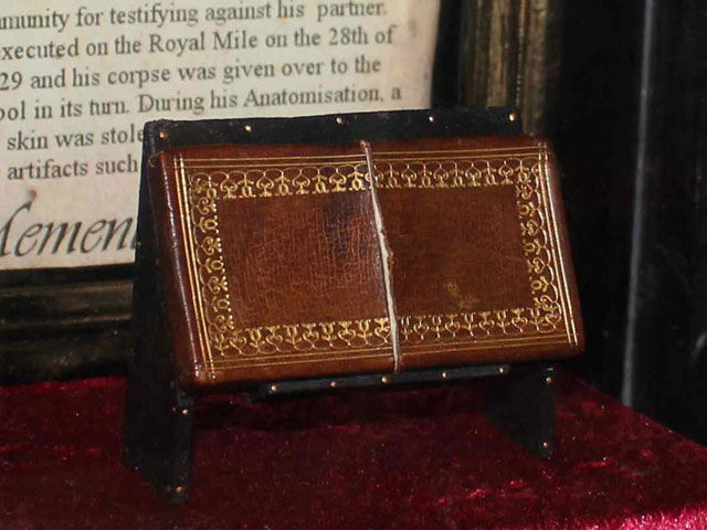 A case made from the skin of William Burke